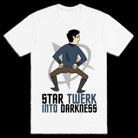 Star Twerk Mens T-Shirt