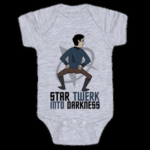Star Twerk Baby Onesy