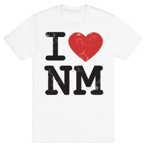 I Love New Mexico Mens T-Shirt