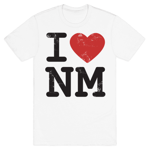 I Love New Mexico Mens T-Shirt