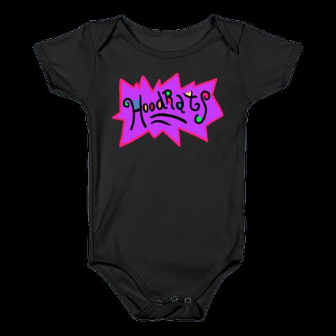 Hoodrats Baby Onesy