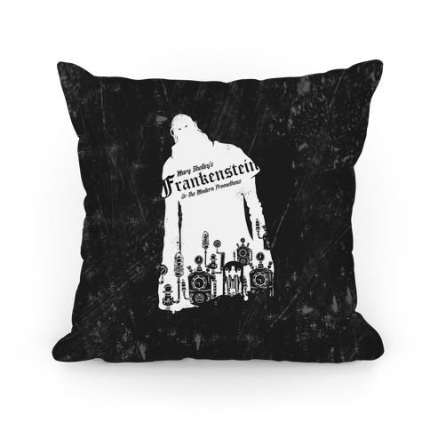 Mary Shelley's Frankenstein Pillow