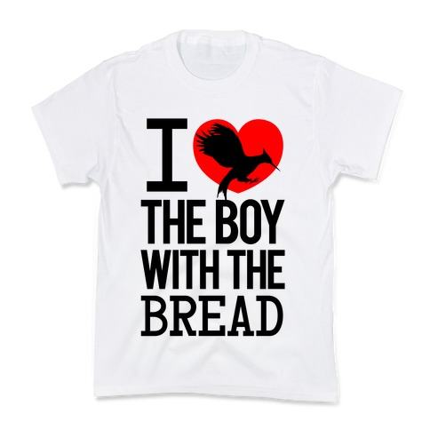 I Love the Boy with the Bread Kids T-Shirt