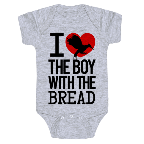 I Love the Boy with the Bread Baby Onesy