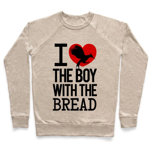 I Love the Boy with the Bread Pullover