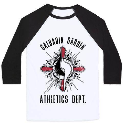 Galbadia Garden Athletics Department Baseball Tee