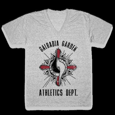Galbadia Garden Athletics Department V-Neck Tee Shirt