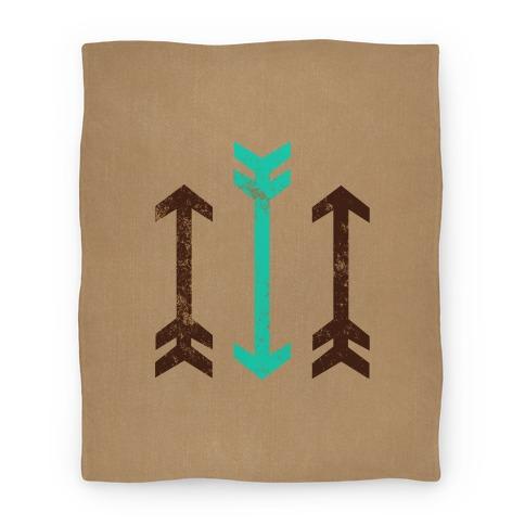 Triple Arrows Blanket