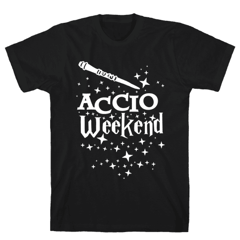 Accio Weekend! Mens T-Shirt