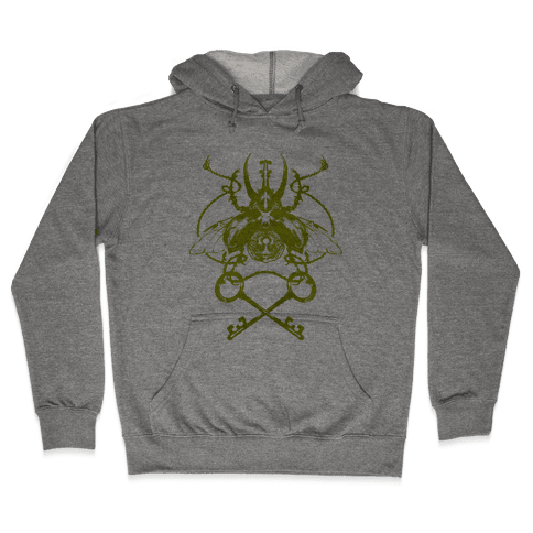Vintage Beetle Hooded Sweatshirt