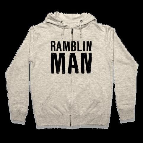 Ramblin Man Zip Hoodie