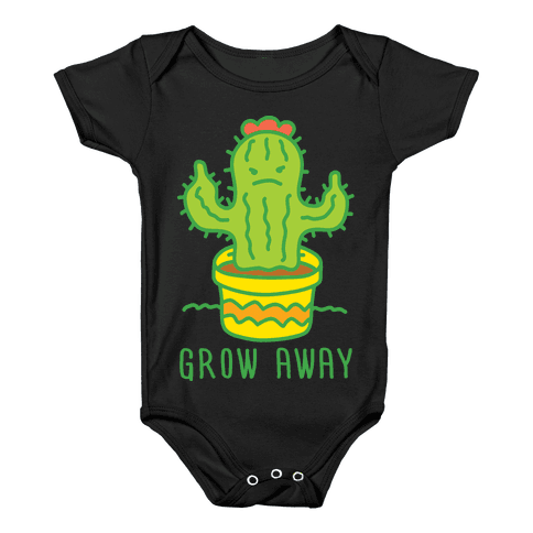 Grow Away Cactus Baby Onesy