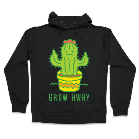 Grow Away Cactus Hooded Sweatshirt