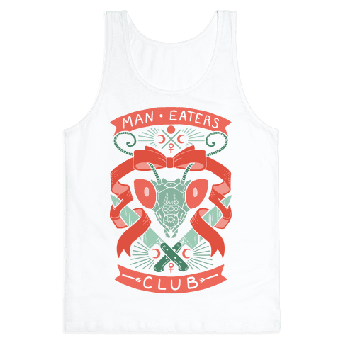 Praying Mantis Man-Eater's Club Tank Top