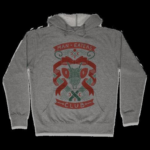 Praying Mantis Man-Eater's Club Hooded Sweatshirt