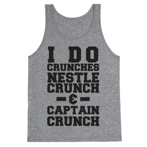 I Do Crunches Tank Top