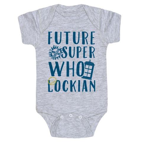 Future Superwholockian Baby Onesy