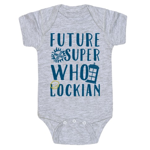 Future Superwholockian Baby Onesy