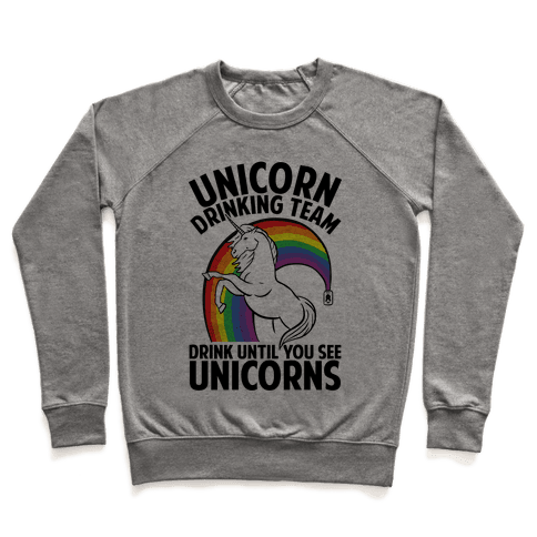 Unicorn Drinking Team Pullover