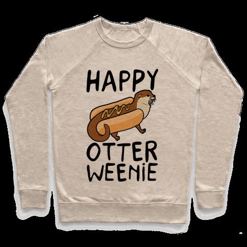 Happy Otterweenie Pullover