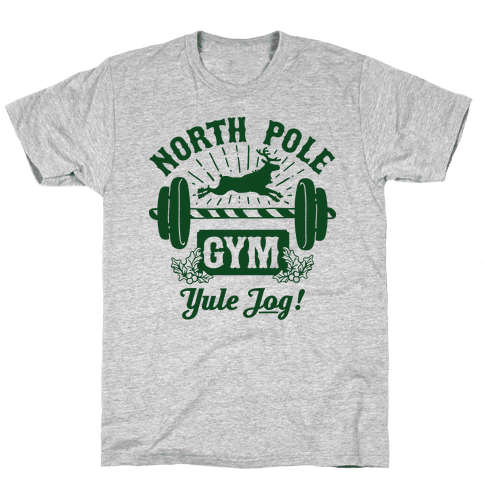 North Pole Gym Mens T-Shirt