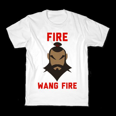 Fire, Wang Fire Kids T-Shirt