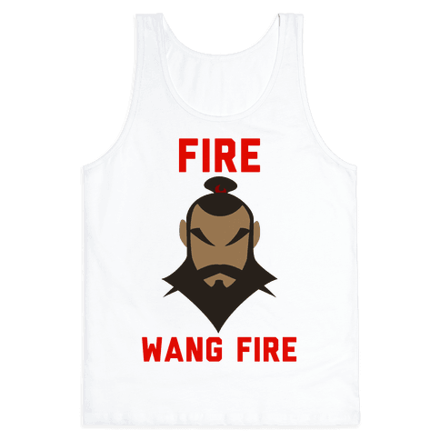 Fire, Wang Fire Tank Top