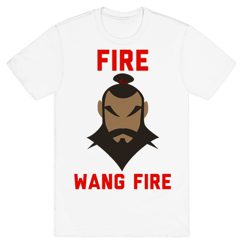 Fire, Wang Fire Mens T-Shirt
