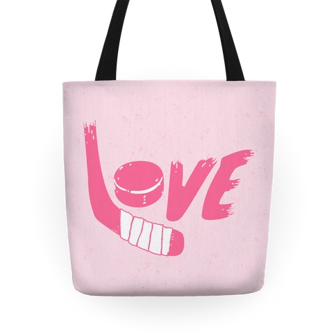Love Hockey Tote