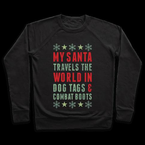 My Military Santa Pullover