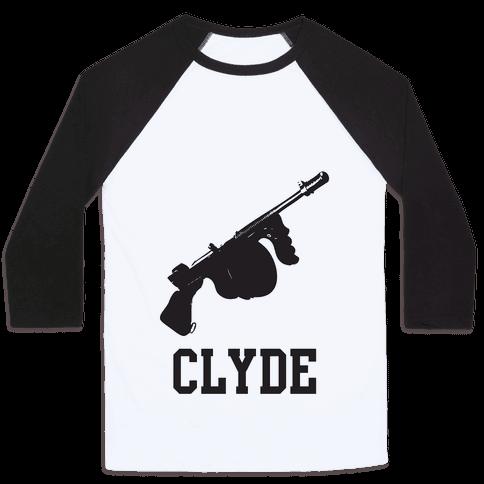 Her Clyde Baseball Tee