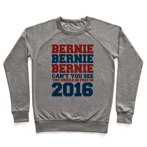 Bernie Should Be Pres in 2016 Pullover