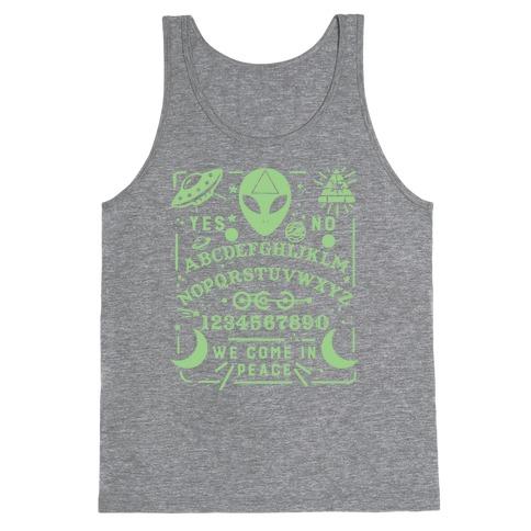Occult Alien Ouija Board Tank Top