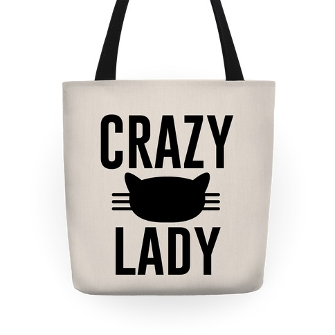 Crazy Cat Lady Tote