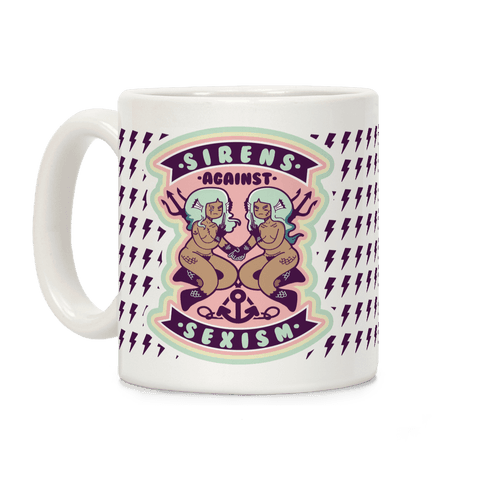 Sirens Against Sexism Coffee Mug