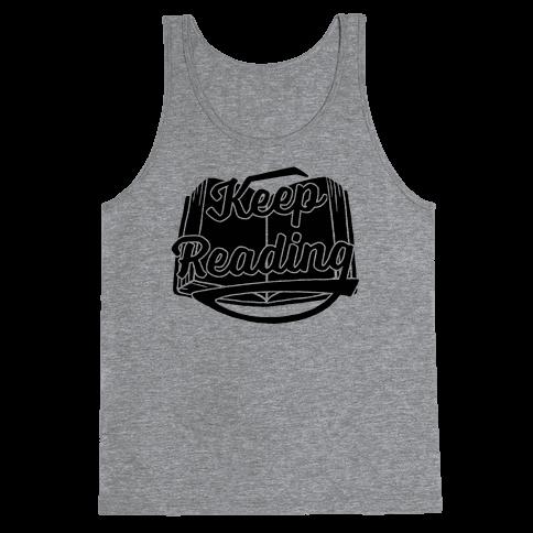 Keep Reading Tank Top