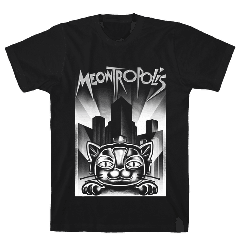 Meowtropolis (Metropolis Parody) Mens T-Shirt