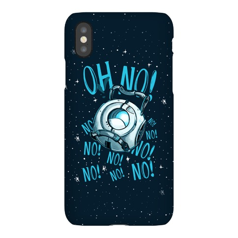 Oh No! (Wheatley) Phone Case
