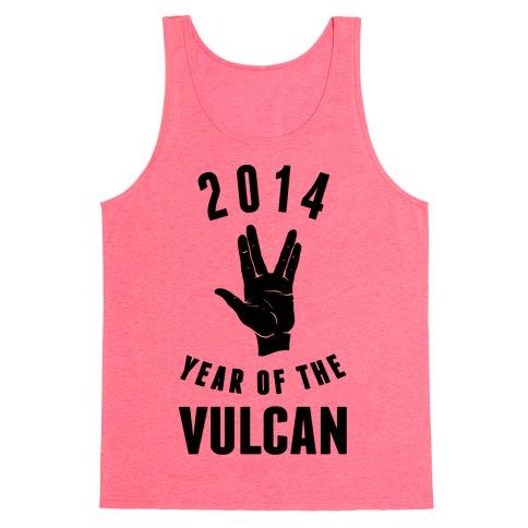 2014 Year of the Vulcan Tank Top