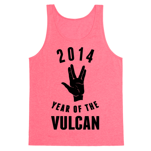 2014 Year of the Vulcan Tank Top