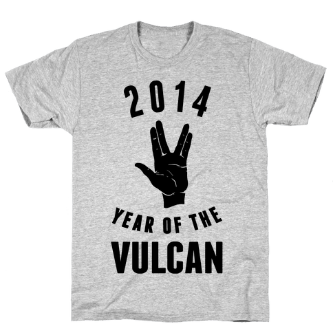 2014 Year of the Vulcan Mens T-Shirt