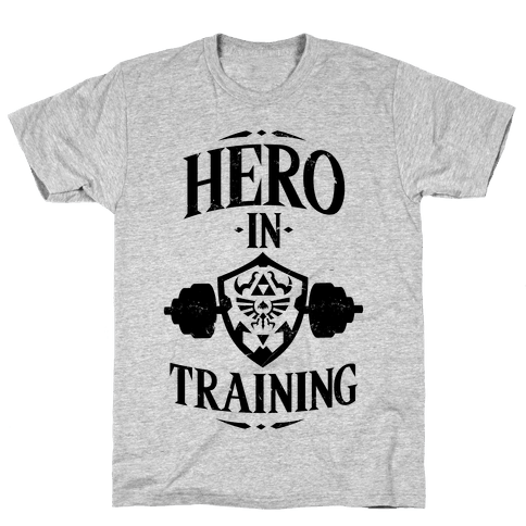 Hero In Training Mens T-Shirt