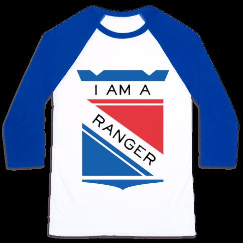 I Am A Ranger Baseball Tee