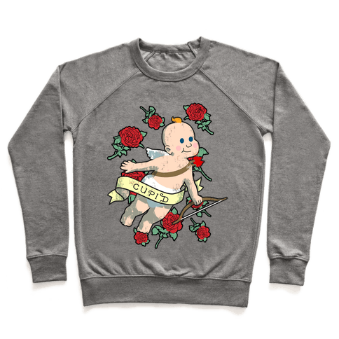 Cupid and the Roses Pullover