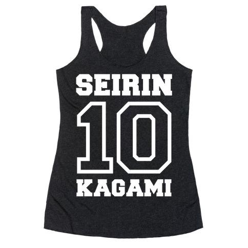 Seirin Number 10: Kagami Racerback Tank Top