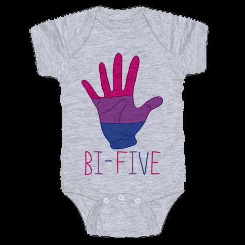 Bi-Five Baby Onesy