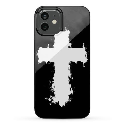 SPLATTER CROSS Phone Case