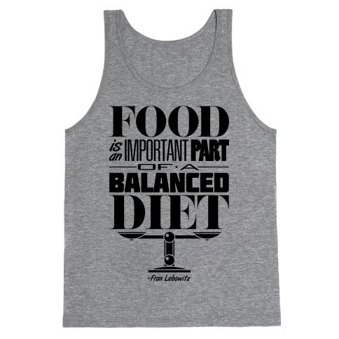 Food Diet Tank Top