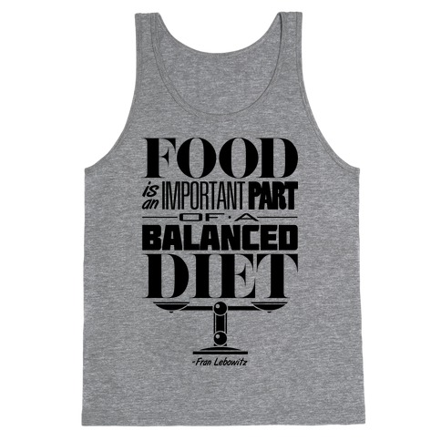 Food Diet Tank Top