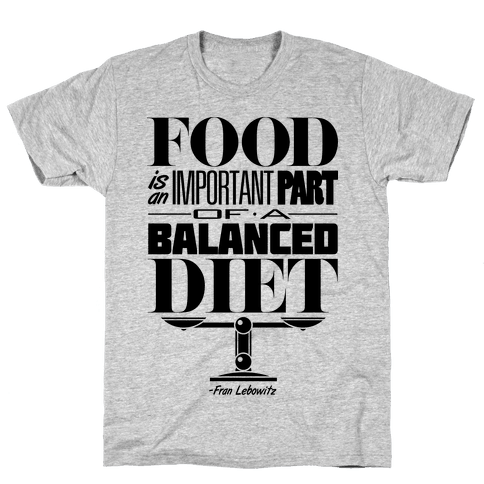 Food Diet Mens T-Shirt